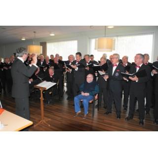 Optreden in Woon- en Zorgcentrum Santvoorde te Baarn 2014