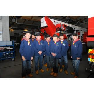 Optreden voor personeelsvereniging brandweer Soest
